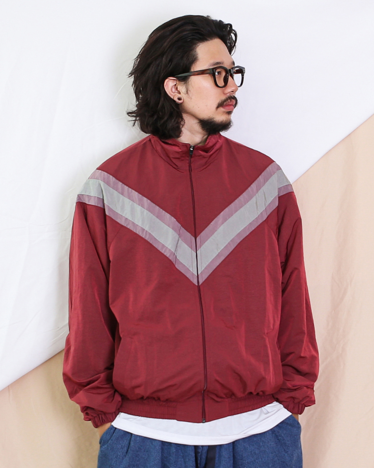 IPFU Wind Jacket (Black/Navy/Wine)