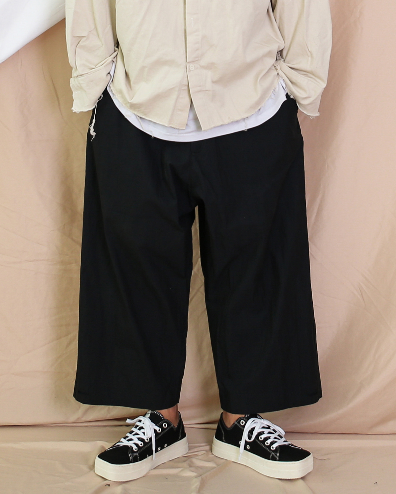 CN Collect Wide Pants (Dark Navy/Khaki/Gray)